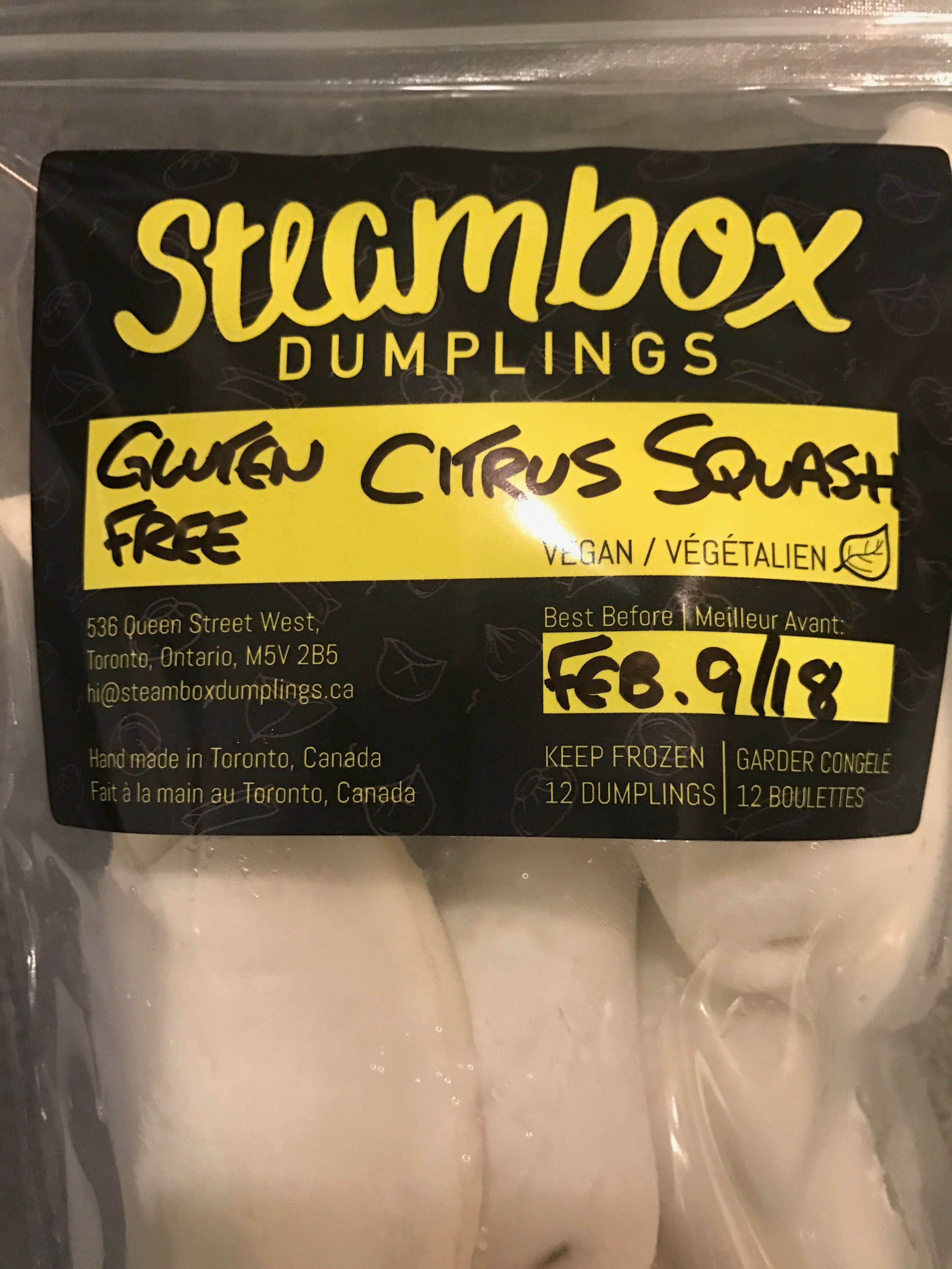 Steambox Dumplings!